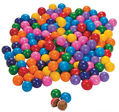 Chocolate Candies, Rainbow Mix