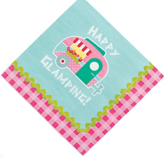 Glam Camping Lunch Napkins