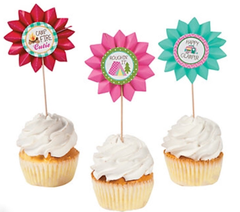 Glam Camping Treat Toppers