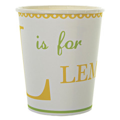 L is for Lemonade Party Cup