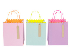 Toot Sweet Pastel and Neon Small Gift Bags