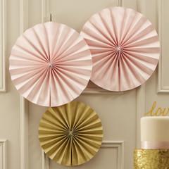 Paper Pinwheel, Pastel Pink