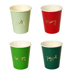 Very Merry Beverage Cups
