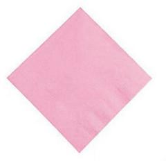Candy Pink Beverage Napkins