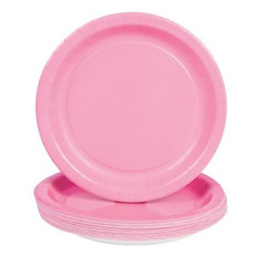 Candy Pink Dinner Plates