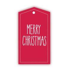 Gift Tag, Merry Christmas