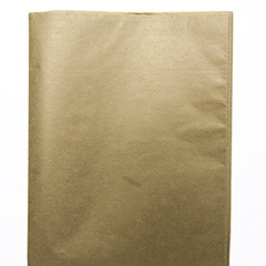 Tissue Paper, Brushed Metallic Gold