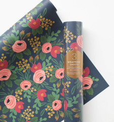 Rolled Wrapping Sheets, Rosa