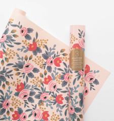 Rolled Wrapping Sheets, Blushing Rosa
