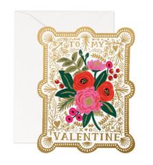 Love Notes: Vintage Valentine Card