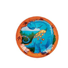 Dinosaur Dessert Plates