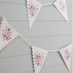 Floral Fancy Bunting