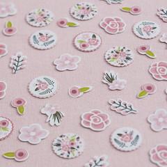 Floral Fancy Confetti