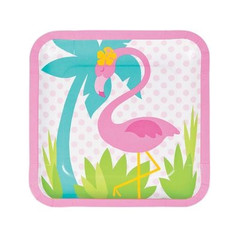 Forever Flamingo Dinner Plates