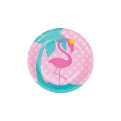 Forever Flamingos Dessert Plates