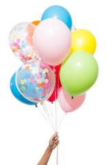 Balloons: 12 Mixed Rainbow Colors