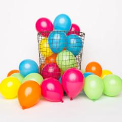 Balloons: 36 Rainbow Minis