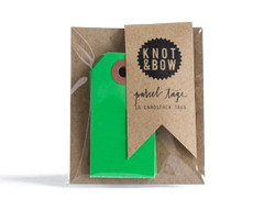 Parcel Tag: 10 Kelly Green