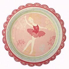 Little Dancers Dessert / Snack Plate