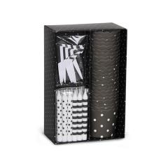 Black and White Cupcake Kit