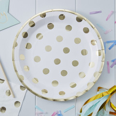 Delicious Dots Paper Plates