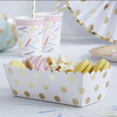 Delicious Dots Food Tray