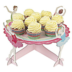 Little Dancer Ballet Cake / Cupcake Stand