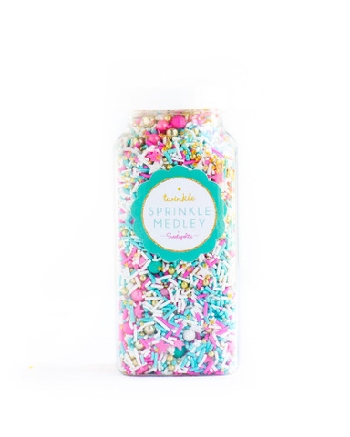 Gourmet Sprinkles, Sugar Fairy Twinkle Sprinkle Medley