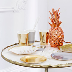 Modern Metallics Copper Pineapple