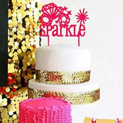 Cake topper, Sparkle