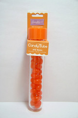 Jelly Bean Candy Tube, Orange