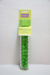 Jelly Bean Candy Tube, Green