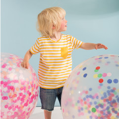 Balloon Kit, Giant Pink Confetti