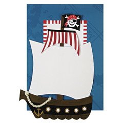 Ahoy There Pirate Invitations