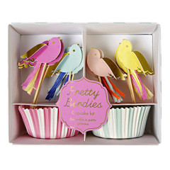 Pretty Birdies Cupcake Kit