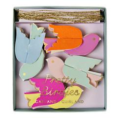 Pretty Birdies Mini Garland