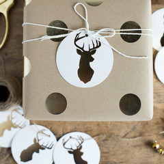 Holiday Collection: Stag Gift Tags