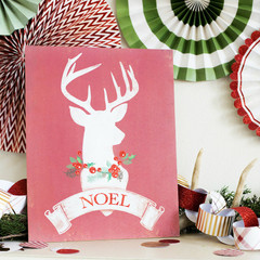 The Holiday Collection: Stag Standing Art