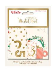 Christmas on Market Street Advent Calendar Gift Tags