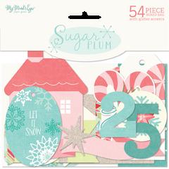 Sugar Plum Gift Tags & Embellishments