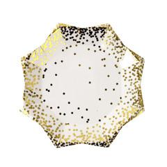 Gold confetti, Small Plate