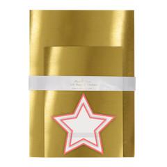 Gold Mylar Gift Bags