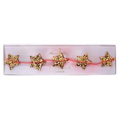 Mini Gold Star Garland