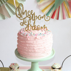 Cake Topper, Once Upon a Dream