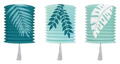 Lanterns, Green