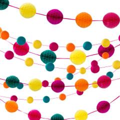 Fiesta Honeycomb Garland