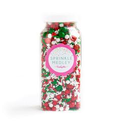 Gourmet Sprinkles, Merry Merry Sprinkle Medley (mini bottle)