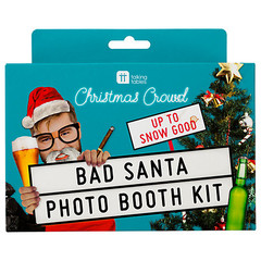 Photo Party Props: Bad Santa