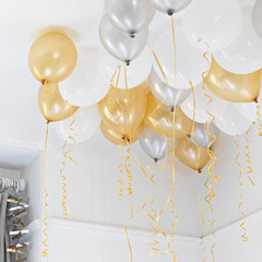 Balloons: 30 Metallic Mix
