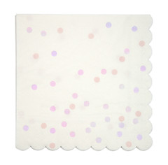 Iridescent Spotty Napkins, Large